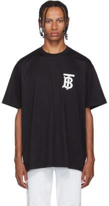Burberry Black Emerson TB T-Shirt
