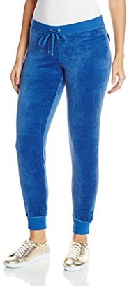 Juicy Couture Black Label Women's Logo Jc Lace Vlr Slim Pant $128 thestylecure.com