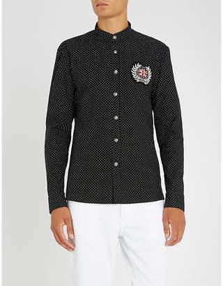 Balmain Polka-dot regular-fit cotton shirt