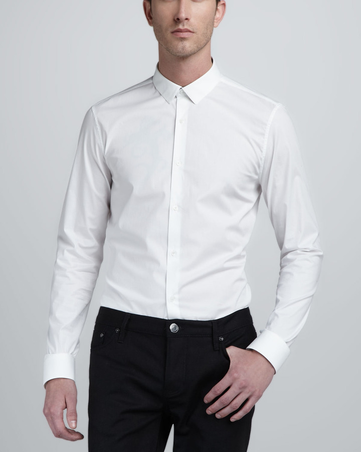 Burberry London Check-Detail Dress Shirt