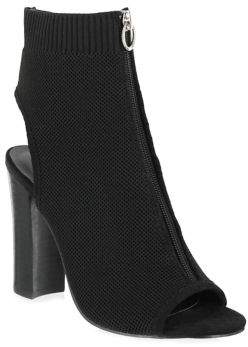 Mia Toryn Zip Knit Booties