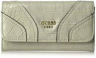 GUESS Islington Croco Slim Clutch Wallet