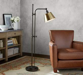 Pottery Barn PB Classic Articulating Floor Lamp with Tapered Metal Shade