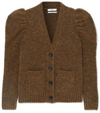 Co Merino Wool-blend Cardigan - Brown