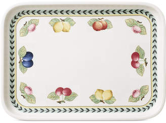 ... Villeroy U0026 Boch French Garden Rectangular Baking Lid U0026 Serving Plate