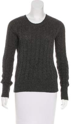 Knit Cable Knit Alpaca Sweater
