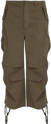 Raey Wide-leg cotton cargo trousers