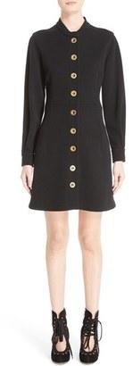 Women's Chloe Button Front Punto Milano Dress $1,795 thestylecure.com