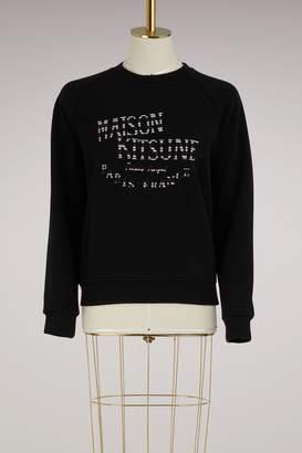 MAISON KITSUNÉ Palais Royal cotton sweater