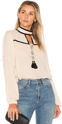 ale by alessandra x REVOLVE Carmin Blouse in White $148 thestylecure.com