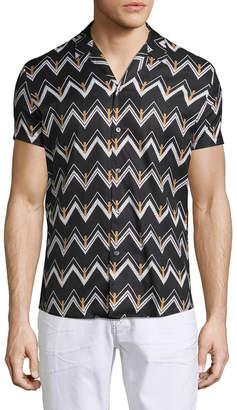 David Naman Short Sleeve Sportshirt