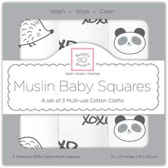 Swaddle Designs Large Cotton Muslin Squares Little Ships Fun