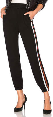 Bobi Terry Athletic Stripe Jogger