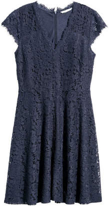 H&M Lace Dress - Blue