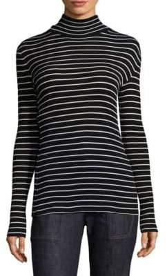 Derek Lam Striped Turtleneck Sweater