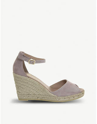 Office Susan espadrille suede wedges