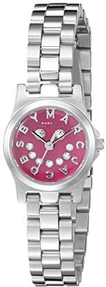 Marc by Marc Jacobs Women's MBM3385 Stainless Steel Bracelet Watch