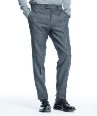 Todd Snyder Charcoal Wool Tweed Tab Front Trouser