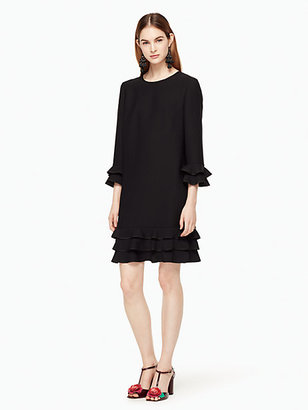 Crepe ruffle shift dress $378 thestylecure.com