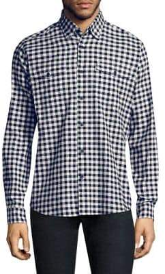 Barbour Hillswick Gingham Regular-Fit Cotton Button-Down Shirt