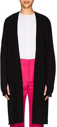 Narciso Rodriguez Women's Open-Back Wool-Cashmere Cardigan