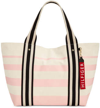 Tommy Hilfiger Classic Tommy Painted Stripe Tote