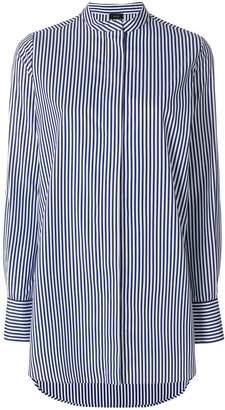 Joseph long striped shirt