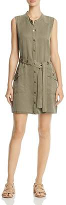 Splendid Grommet Shirt Dress $168 thestylecure.com