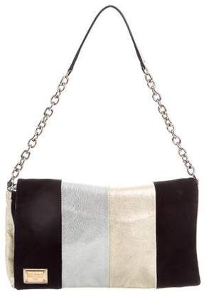 Dolce & Gabbana Metallic Leather & Suede Miss Martini Bag