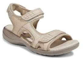 Clarks Collection By Saylie Jade Leather Open Toe Sandals