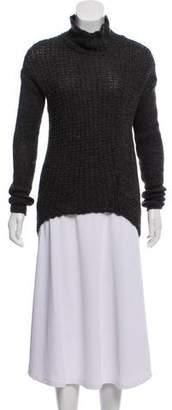 Helmut Lang Turtle-Neck Knit Sweater