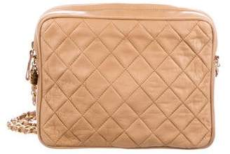 Chanel Quilted Camera Bag