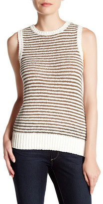 J Brand Garey Knit Sweater Tank $198 thestylecure.com