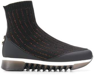 Alexander Smith sock shaped sneakers
