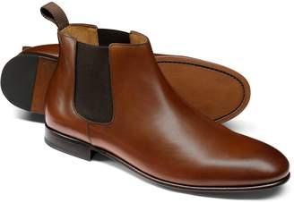 Charles Tyrwhitt Tan Chelsea Boot Size 12