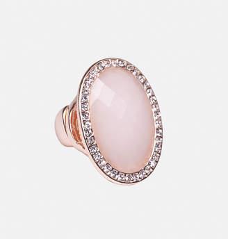 Avenue Blush Rose Gold Stretch Ring