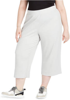 Ideology Plus Size Ribbed Culottes