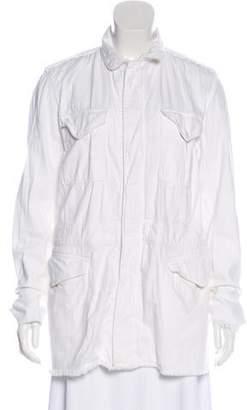RtA Denim Casual Zip-Up Jacket