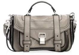 Proenza Schouler Ps1+ Tiny Leather Zip Satchel