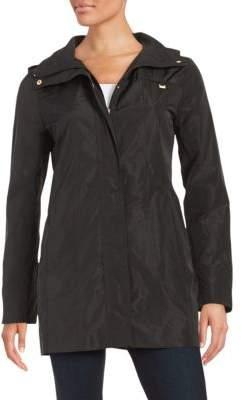 Ellen Tracy Plus Packable Rain Coat