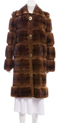 Michael Kors Mink Fur Short Coat