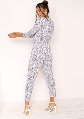 e892f6bd4d4 Missy Empire Missyempire Emi Purple Leopard Print Jumpsuit