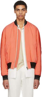 Haider Ackermann Pink Larimar Bomber Jacket