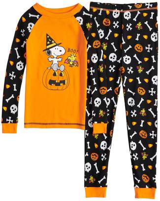 69c80c83b3 Boys 4-8 Peanuts Snoopy Boo Glow-in-the-Dark 2-