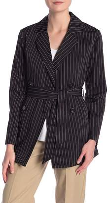 Dress Forum Pinstripe Double Breasted Jacket