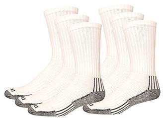 Dickies Men's Heavyweight Cushion with Ankle and Arch Compression Work Crew Socks
