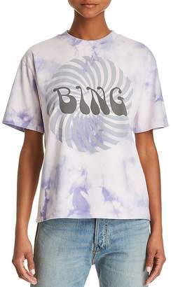 Anine Bing Groovy Tie-Dye Graphic Tee