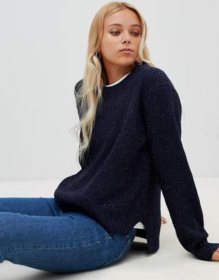 Wild Flower Ribbed Sweater