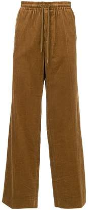 Undercover wide-leg corduroy trousers