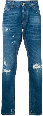 Dolce & Gabbana distressed denim jeans